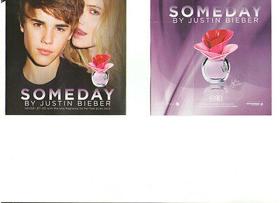 Someday By Justin Bieber Fragrance Perfume Scent Smell Sampler Canada Never Used