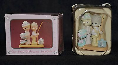 Precious Moments -Miniature~ Our First Christmas Together~ Nib- 578142