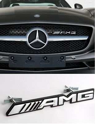 Replacement AMG Front Grill Badge Emblem for Mercedes Benz A C E CLA GLA GLC GLE