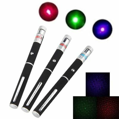Powerful Laser Pointer  Red/Green/Purple Color Starry Star Laser Pen Beam Laser