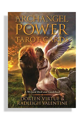 NEW Archangel Power Tarot Cards: A 78-Card Deck and Guidebook by Doreen Virtue
