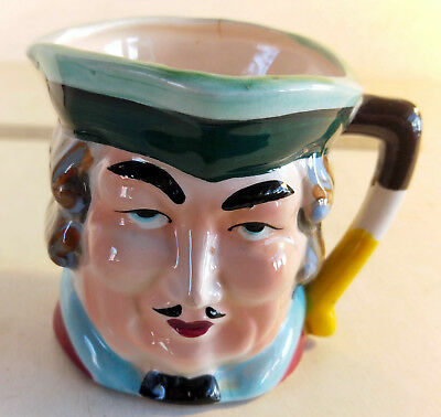 Vintage Character Toby Jug Man's Head, Made in Japan (6388)