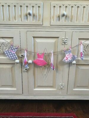 Tutu And Ballet Shoes Bunting