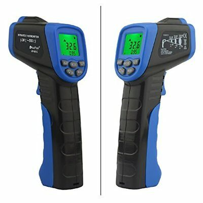 Digital Temperature Gun Infrared Thermometer Non Contact Laser Instant Read 9V