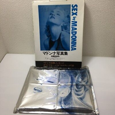MADONNA SEX ART JAPAN EDITION Photo Book Without CD
