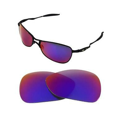 129c3222cfe New Polarized Replacement Light+ Red Lens For Oakley Crosshair 1.0  Sunglasses