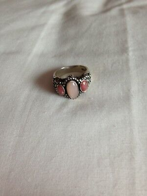 South Western Silver Ring Size M