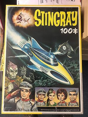 Stingray King 100 Pc Jigsaw  Shrink Wrapped Gerry Anderson # 2