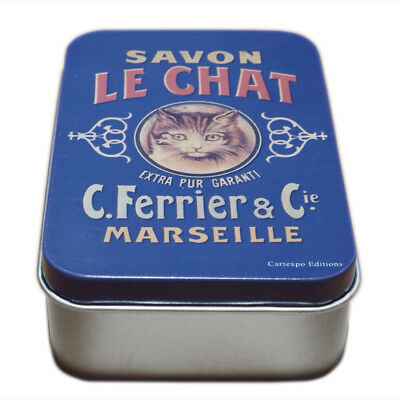 Retro Soap Box 9x6x2, 7cm - Savon Le Chat