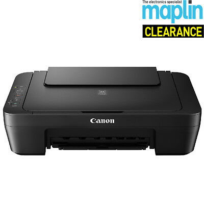 Canon Pixma MG2550S All In One Colour Inkjet Printer Borderless Print Maplin