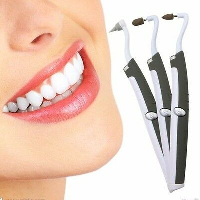 Multifunction Sonic Teeth Whitening Stain Eraser Tooth Polisher Kit Oral Care