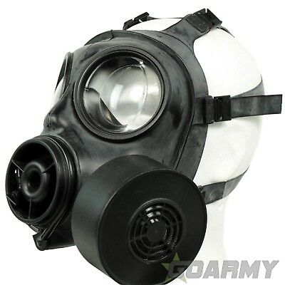British Army S10 Gas Mask with DPM Bag