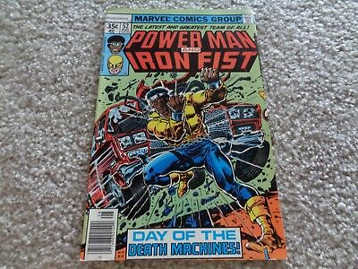 Marvel Comics Power Man an Iron Man First #52 August 1978
