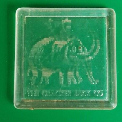 1955 Vintage Cracker Jack Prize Toy Tilter Elephant Square