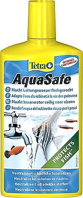 TETRA AQUASAFE 500ML  water conditioner