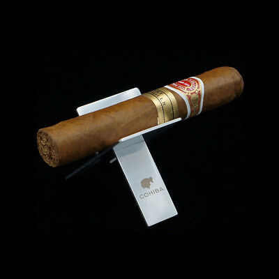 Cigaratte Holder Cigar Ashtray Foldable Showing Stand Holder Stainless Cohiba