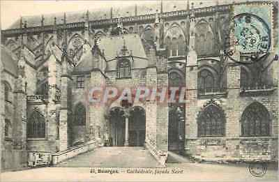 CPA Bourges Cathedrale facade Nord