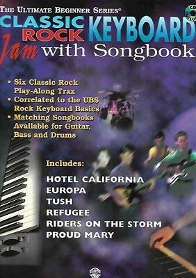 Partition+CD clavier - Classic Rock Keyboard - Jam With Songbook
