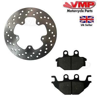 New Yamaha YZF R 125  YZF125 Rear Disk Disc Brake Rotor And Pads 08-13 OEM Shape