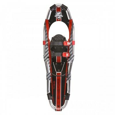 Yukon Charlie's Sherpa Snowshoes - 8x21 (up to 150lbs) Black & Red