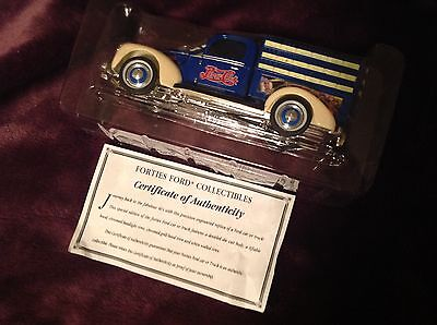 Forties Ford collectable truck in Pepsi Cola livery, NIB w COA.