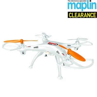 Cyclone Nano Drone With Camera High Performance Quadcopter Below 120m Maplin