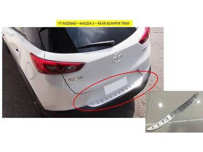 Mazda Cx-3 Rear Bumper Trim - Stainless Steel Yt-Mzd040