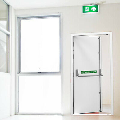 Fire Exit Door | Insulated | Commercial Emergency Exit | Fire Escape Shop Doors