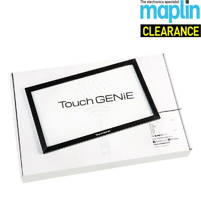 """Touch Genie Touch Screen Overlay For 27"""" Monitors Compatible With Android Maplin"""