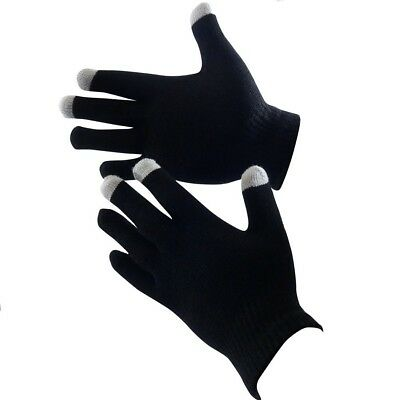 Unisex Winter Touch Screen Gloves Iphone Ipad Phone Magic Black Gloves New