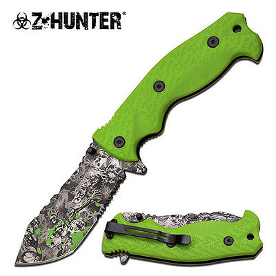 Wholesale Lot of 10 Zombie Killer Assisted Opening Knives NEW
