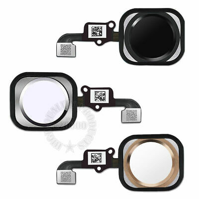 Touch ID Sensor Home Button Flex Cable Key Cap Assembly For iPhone 6 6s Plus 5S