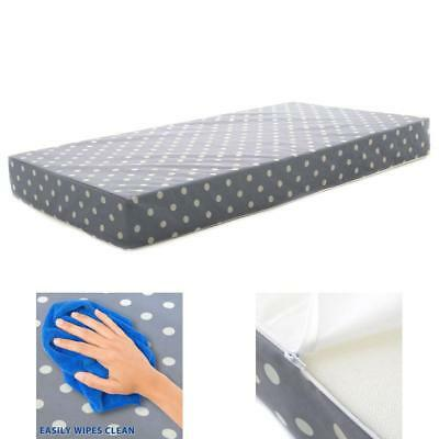 Hypoallergenic Premium Memory Foam Toddler Bed and Next Stage Baby Crib Mattress