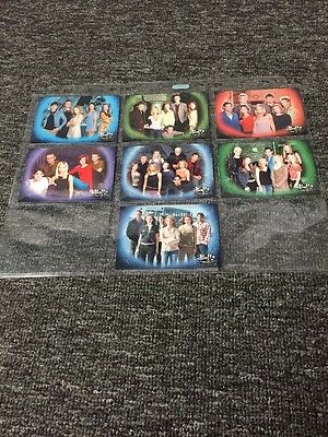 Buffy The Vampire Complete Sky One Promo Set From All 7 Seasons