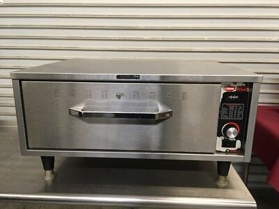 1 Drawer Warmer Hatco HDW-1 #7104 Commercial Heated Food Warming Cabinet NSF