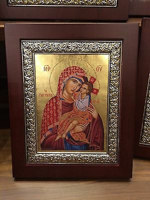 Panagia- Theotokos the Healer - handmade Greek orthodox Russian byzantine Icon