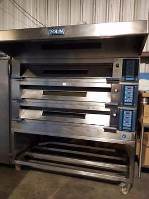 Prolin Stratos 3STA Modular 3 Deck Electric Oven w/ Hood