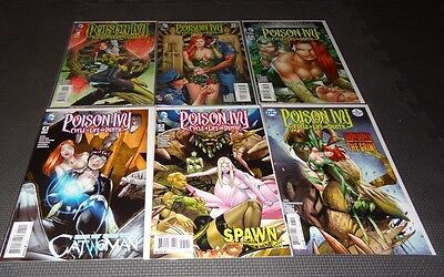 POISON IVY Cycle of Life and Death #1 - #6 Complete High Grade HTF - Catwoman