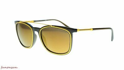fe2329bf88488 VERSACE MEN S SQUARE Sunglasses VE4335 5256F9 Matte Green Mirror Brown Lens  56mm -  145.00