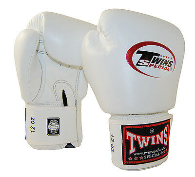 Twins Muay Thai Boxing Gloves White