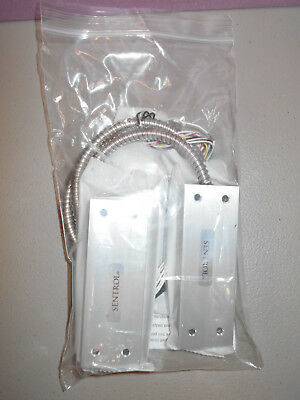 New Sentrol Interlogix 2707AD-L High Security Contact, Armored Cable, DPDT