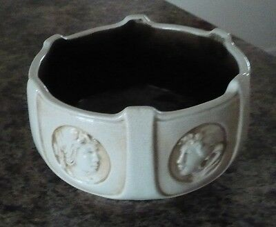 "ANTIQUE BRETBY BOWL H 4, Diam 7""    6 different cameos around the side"