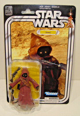 Star Wars 40th Anniversary JAWA Action Figure SEALED Hasbro 2017 New DISNEY ANH
