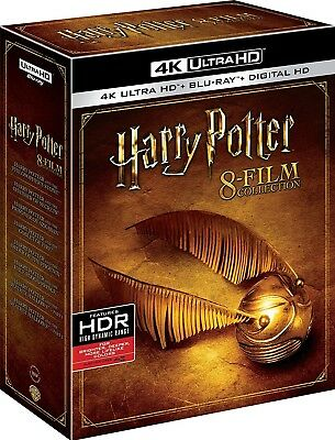 Harry Potter: 8-Film Collection (Years 1-7)(4K Ultra HD)(DTS:X)(UHD)