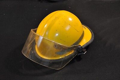 Bullard FXA-1 Firedome Fire Helmet Forestry Adjustable Good Condition w/ Manual