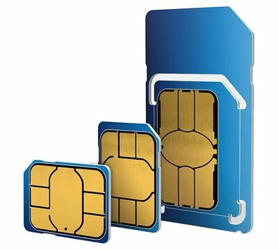 O2 Sim Card PAYG 2G/3G/4G Pay As You Go / Standard Micro Nano SIM Card