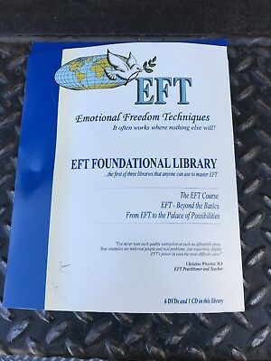 EFT Emotional Freedom Techniques 6 DVD 1 cd foundational library