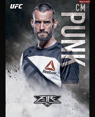 CM Punk Topps UFC Knockout Digital Inserts