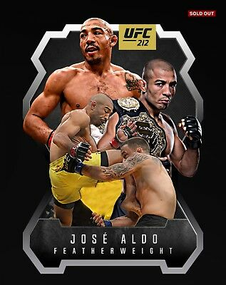 Jose Aldo Topps UFC Knockout Digital Inserts