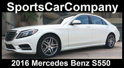 2016 Mercedes-Benz S-Class S550 2016 MERCEDES BENZ S550 LOADED 1 OWNER CAR SUPERB w/MSRP $114k YOURS NOW $79,998